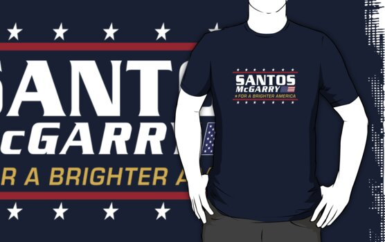 Santos McGarry for a brighter America by Brian Edwards