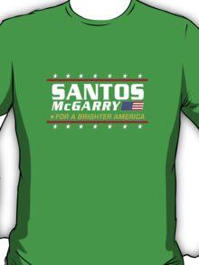 Santos McGarry for a brighter America T-Shirt