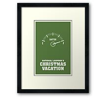 National Lampoons Christmas Vacation Framed Print