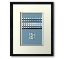 Cool Hand Luke Framed Print