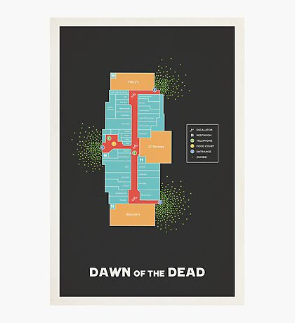 Dawn of the Dead Photographic Print