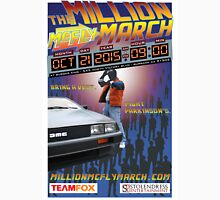 The Million McFly March Parkinson's Benefit Official Poster (Max Size 12 X 18) Unisex T-Shirt