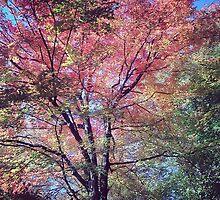 Spring Tree Scene by DeathlyMad