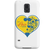 Let Love Grow Samsung Galaxy Case/Skin
