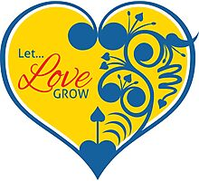 Let Love Grow Photographic Print