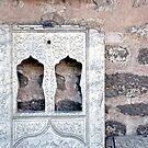 Rustic Door No. 130 by Glennis  Siverson