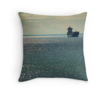 Superior Shimmer. Throw Pillow