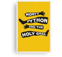 Monty Python and the Holy Grail Canvas Print