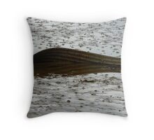 Beached!! Throw Pillow