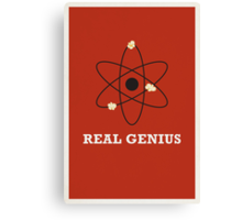Real Genius Canvas Print