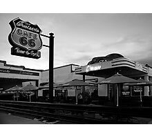 Cruisers Cafe, route 66, Williams AZ Photographic Print