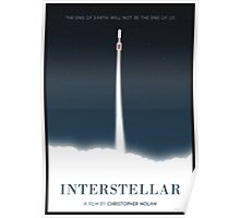 Interstellar film poster Poster