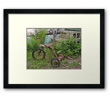 Magic Tricycle Framed Print
