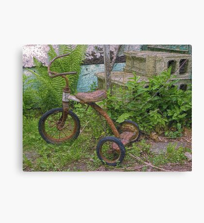 Magic Tricycle Canvas Print