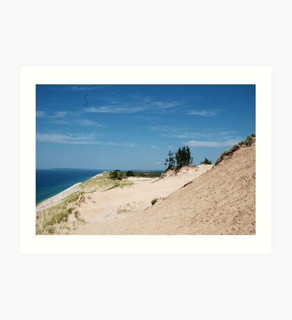 Edge of the Dunes Art Print