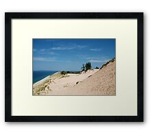 Edge of the Dunes Framed Print