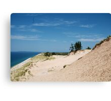 Edge of the Dunes Canvas Print
