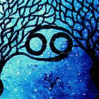 Astrolotree Series - Cancer by JennyLeeWright