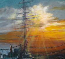 Tall Ships 2 River Mersey Liverpool by Anniebubble