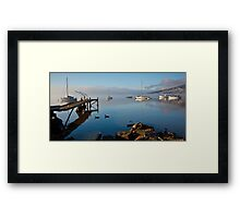 Boats off Battery Point, Hobart, Tasmania #2 Framed Print