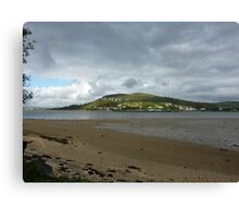 Across the channel Canvas Print