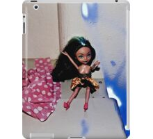Blue Light Emo Barbie iPad Case/Skin