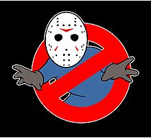 Ghostbusters (Jason Voorhees) Photographic Print