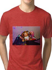 DJ Groupie Doll Gang  Tri-blend T-Shirt
