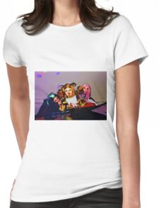 DJ Groupie Doll Gang  Womens Fitted T-Shirt