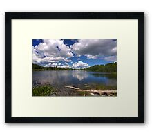 River HDR - Almonte, Ontario Framed Print