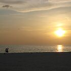 Sunset at St. Pete's Beach by Suelynn