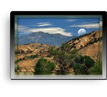 """"""" Jeep Country """" Canvas Print"""