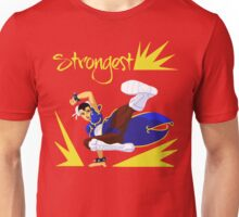 Chun-Li's sweep Unisex T-Shirt