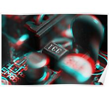 Anaglyph Circuitry 2 Poster