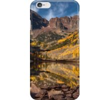 Late Fall at Maroon Bells iPhone Case/Skin