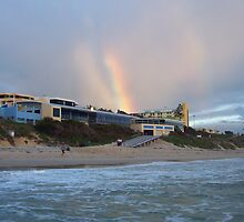Beach Rainbow Three by Robert Phillips