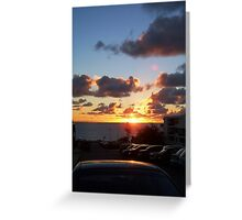 North Cottesloe Sunset Four Greeting Card