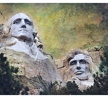 Mount Rushmore - My Impression Photographic Print