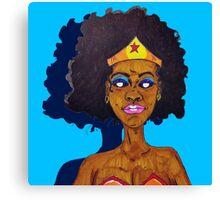 Amazing Woman Canvas Print