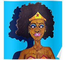 Amazing Woman Poster