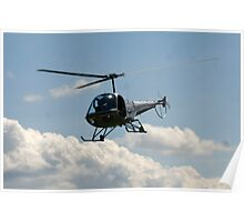 helicopter fly by Poster