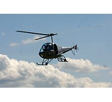 helicopter fly by Photographic Print