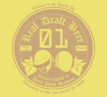 Draft Punk Beer Baby Tee