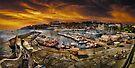 Antalya Marina by Ted Byrne
