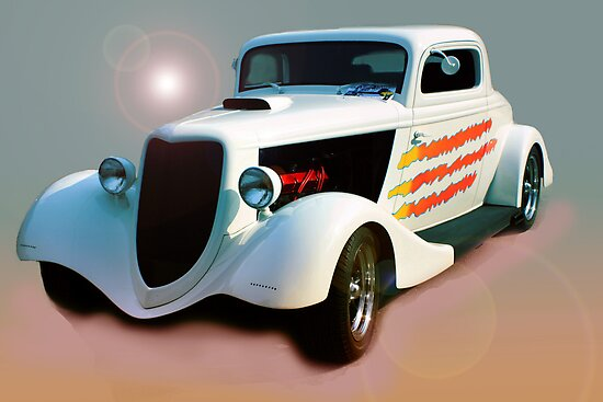 Hot Rod With a Flare by AuntDot