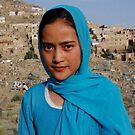 Blue  beautiful  Lady  , Kabul    Afghanistan by yoshiaki nagashima
