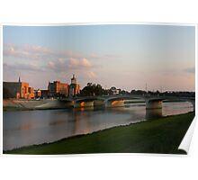 Main High Street Bridge - Hamilton Ohio I Poster