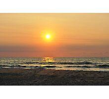 Sunrise in Salvo Photographic Print