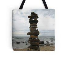 Block Island Cairn Tote Bag