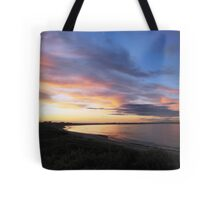 Sunset on Block Island Tote Bag